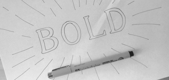lettering-bold
